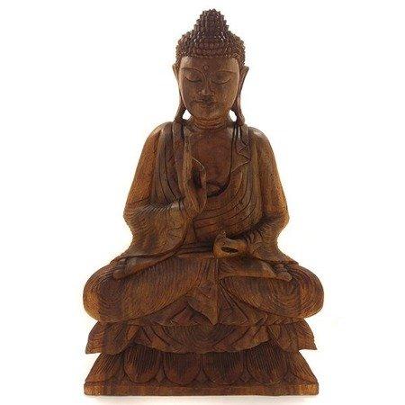 Budda pokonujący lęk