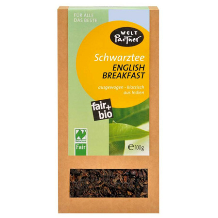 HERBATA CZARNA ENGLISH BREAKFAST 100G BIO FAIR TRADE