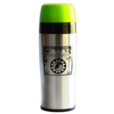 "YERBOMOS 2.0 LOGO ""MATE GREEN""  3W1  YERBA MATE 350 ML"